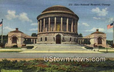Elks' National Memorial  - Chicago, Illinois IL Postcard