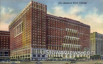 Bismarck Hotel - Chicago, Illinois IL Postcard