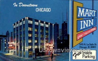 Mart Inn  - Chicago, Illinois IL Postcard