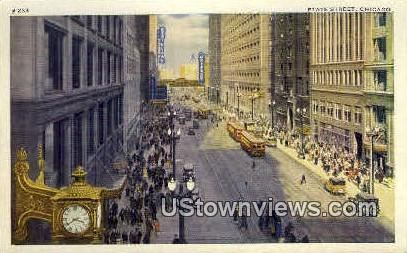 State Street - Chicago, Illinois IL Postcard