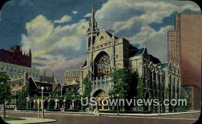 The Fourth Presbyterian Church - Chicago, Illinois IL Postcard