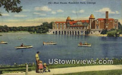 Humboldt Park - Chicago, Illinois IL Postcard