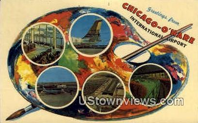 Chicago-O'hare International Airport - Illinois IL Postcard