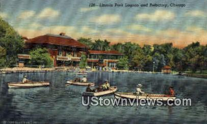 Lincoln Park - Chicago, Illinois IL Postcard