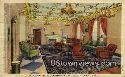 Hotel Dalton - Chicago, Illinois IL Postcard