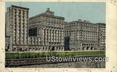 Auditorium and Annex - Chicago, Illinois IL Postcard