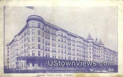 Chicago Beach Hotel  - Illinois IL Postcard