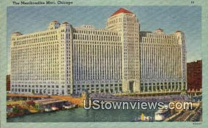 The Merchandise Mart - Chicago, Illinois IL Postcard