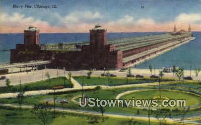 Navy Pier  - Chicago, Illinois IL Postcard