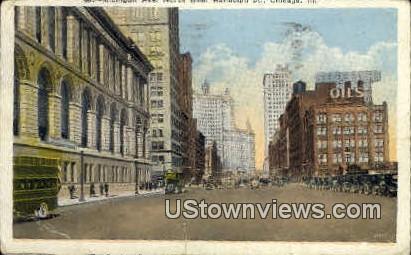 Michigan Ave. - Chicago, Illinois IL Postcard