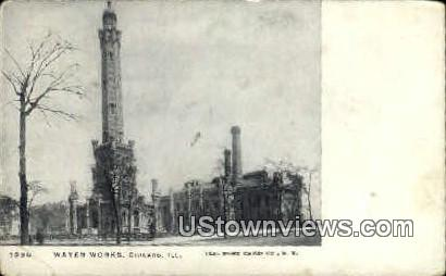 Water Works - Chicago, Illinois IL Postcard