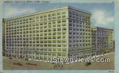 Marshall Field - Chicago, Illinois IL Postcard