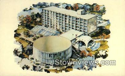 Chicagoland's Newest Suburban Motel - Illinois IL Postcard