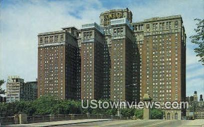 The Conrad Hilton Hotel - Chicago, Illinois IL Postcard