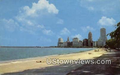 Chicago's Lake Shore - Illinois IL Postcard