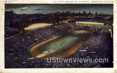 Soldier Field and Field Museum - Chicago, Illinois IL Postcard
