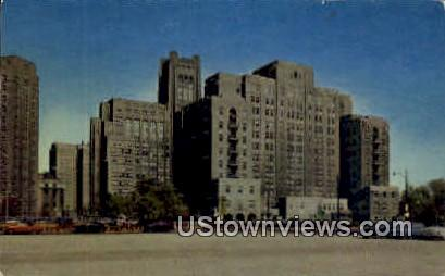 Montgomery Ward Memorial - Chicago, Illinois IL Postcard