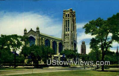 Rockefeller Chapel - Chicago, Illinois IL Postcard