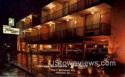 Travelodge - Chicago, Illinois IL Postcard