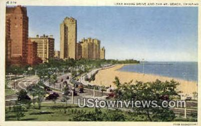 Lake Shore Drive - Chicago, Illinois IL Postcard