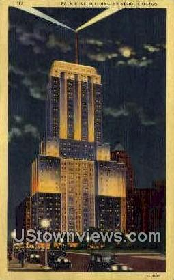 Palmotive Building - Chicago, Illinois IL Postcard
