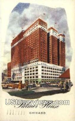 Palmer House, A Hilton Hotel - Chicago, Illinois IL Postcard