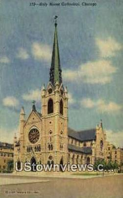 Holy Name Cathedral - Chicago, Illinois IL Postcard
