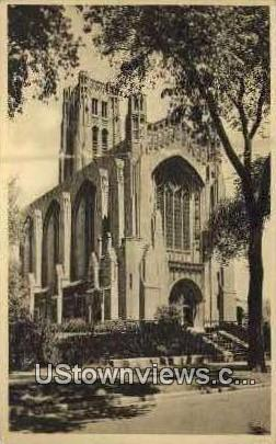 University of Chicago Chapel - Illinois IL Postcard