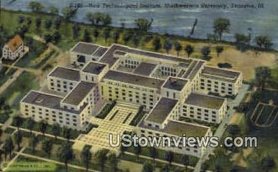 New Technological Institute - Evanston, Illinois IL Postcard