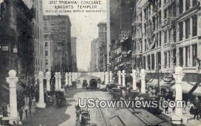 31st Triennial Conclave - Chicago, Illinois IL Postcard