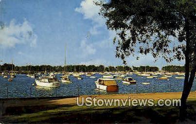 Corinathian Yacht Club - Chicago, Illinois IL Postcard