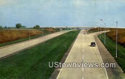 Illinois Tollway - Chicago Postcard