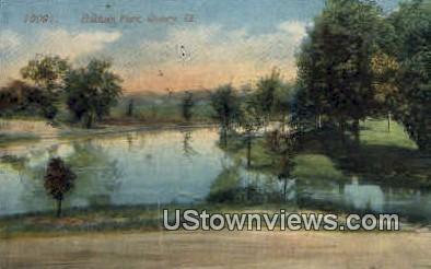 Baldwin Park - Quincy, Illinois IL Postcard