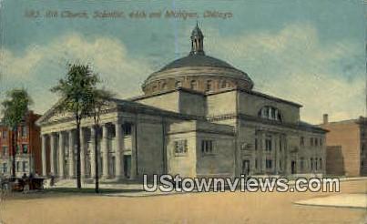 8th Church - Chicago, Illinois IL Postcard