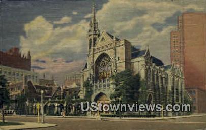 4th Presbyterian Church - Chicago, Illinois IL Postcard