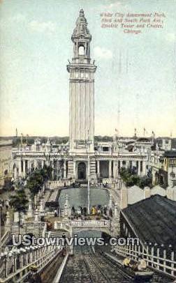 White City Amusement Park - Chicago, Illinois IL Postcard