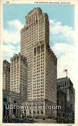 Bankers Bldg - Chicago, Illinois IL Postcard