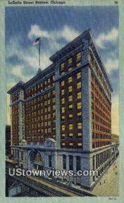 La Salle Street - Chicago, Illinois IL Postcard