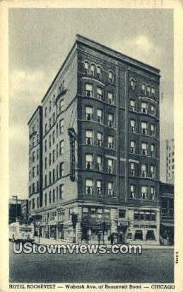 Hotel Roosevelt - Chicago, Illinois IL Postcard