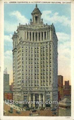 London Guarantee & Accident Co Bldg - Chicago, Illinois IL Postcard