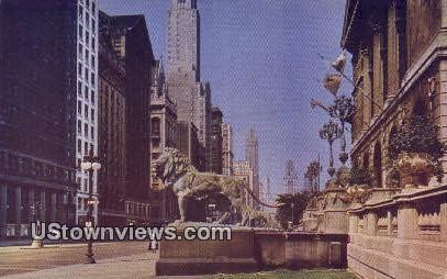 Art Institute - Chicago, Illinois IL Postcard