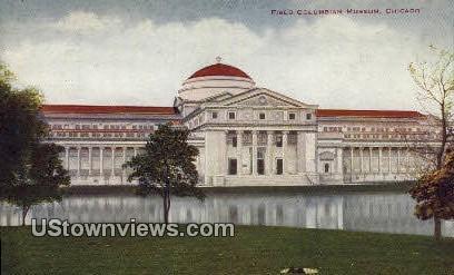 Field Columbian Museum - Chicago, Illinois IL Postcard