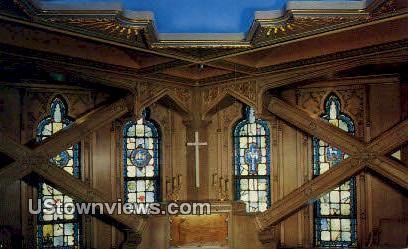 Chapel in the Sky - Chicago, Illinois IL Postcard