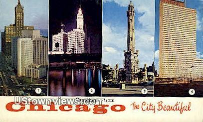 Veteran's Admin Research Hospital - Chicago, Illinois IL Postcard