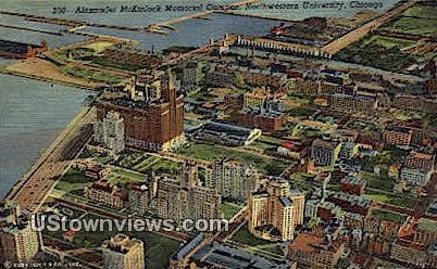 Alexander McKinlock Memorial Campus - Chicago, Illinois IL Postcard
