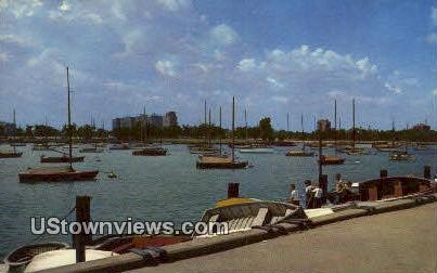 Montrose Harbor - Chicago, Illinois IL Postcard