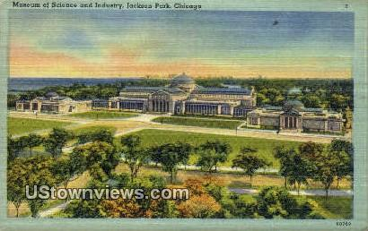 Museum of Science & Industry - Chicago, Illinois IL Postcard