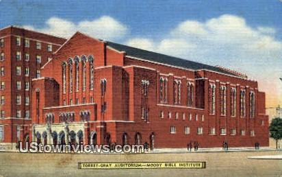 Moody Bible Institute - Chicago, Illinois IL Postcard