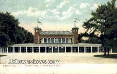 Refectory, Washington Park - Chicago, Illinois IL Postcard