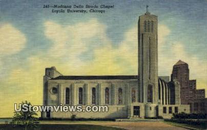 Loyola University - Chicago, Illinois IL Postcard